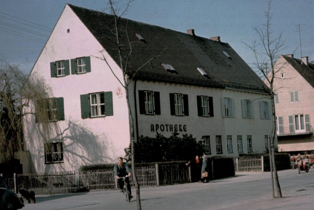 Die Bärenkeller Apotheke in den Fünfziger Jahren